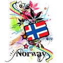 Flower Norway T-shirt