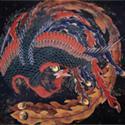 Katsushika Hokusai Phoenix