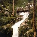 Vintage Wasserfall Germany