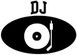 DJ (BLACK circle)