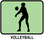 Womens Volleyball (GREEN)