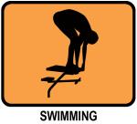 Swimming (orange)