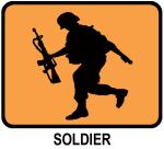 Soldier (orange)