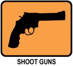 Shoot Guns (orange)