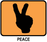 Peace (orange)