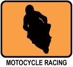 Motocycle Racing (orange)
