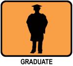 Graduate (orange)