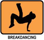 Breakdancing (orange)