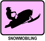 Snowmobiling (pink)
