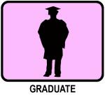 Graduate (pink)