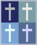 Christianity (blue boxes)
