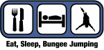 Eat, Sleep, Bungee Jumping