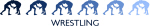 Wrestling (blue variation)