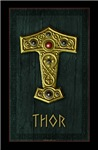 Thor's Hammer X UP Gold THOR Poster