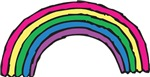 Hand Drawn Rainbow