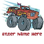 Personalized Monster Truck