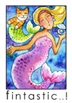 MERMAID AND CAT FISH No.3