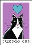 I HEART TUXEDO CATS
