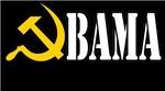 OBAMA - HAMMER AND SICKLE - COMRADE OBAMA COMMUNIS
