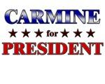 CARMINE for president