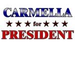 CARMELLA for president