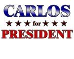 CARLOS for president
