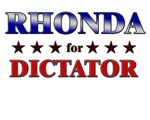 RHONDA for dictator