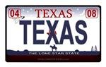 Texas License Plate - TEXAS