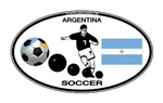 Argentina Oval Soccer
