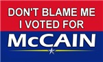I Voted For McCain