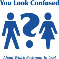 You Look Confused About Which Restroom To Use