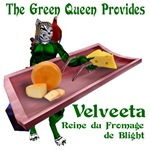 Velveeta, the Cheese Queen