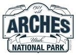 Arches National Park - Blue version
