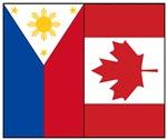 Philippine & Canada Flags