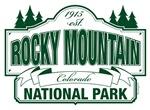 Rocky Mountain National Park Sign Design