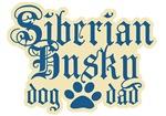 Siberian Husky Dad