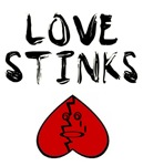 LOVE STINKS (UPSIDE DOWN HEART)