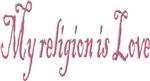 My religion is Love Design