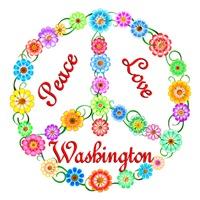 <b>PEACE LOVE WASHINGTON</b>