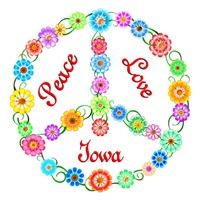 <b>PEACE LOVE IOWA</b>