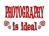 <b>PHOTOGRAPHY IS IDEAL</b>