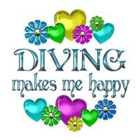 <b>DIVING HAPPINESS</b>