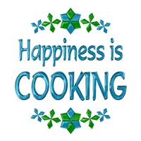 <b>HAPPINESS IS COOKING</b>