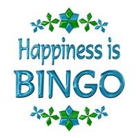 <b>HAPPINESS IS BINGO</b>