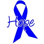 Hope Blue Ribbon T-Shirts & Gifts