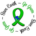 Save Earth Go Green Environment T-Shirts &