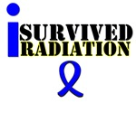 I Survived Radiation Colon Cancer T-Shirts