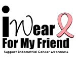 Endometrial Cancer (Friend) T-Shirts