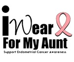Endometrial Cancer (Aunt) T-Shirts