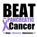 Beat Pancreatic Cancer Awareness T-Shirts